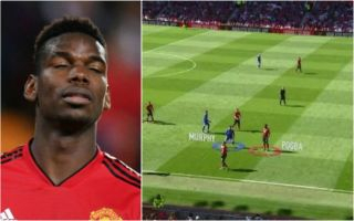 (Photos) Paul Pogba's unacceptable defending to blame for 2nd Cardiff goal vs Manchester United