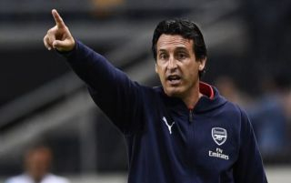 (Photo) Unai Emery spotted on Arsenal scouting mission, Man United transfer target possibly on Gunners' agenda