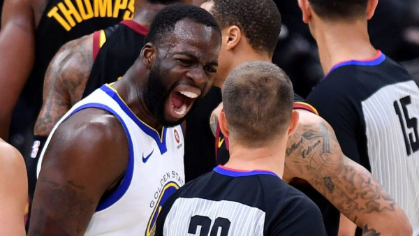 Draymond Green on techs: 'I was doing more crying than playing' (VIDEO)