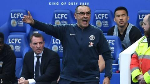 Sarri to discuss future with Chelsea after Europa League final