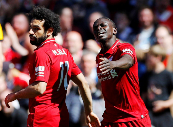 Liverpool 2 Wolves 0: No title party at Anfield as Sadio Mane and Mohamed Salah share Golden Boot
