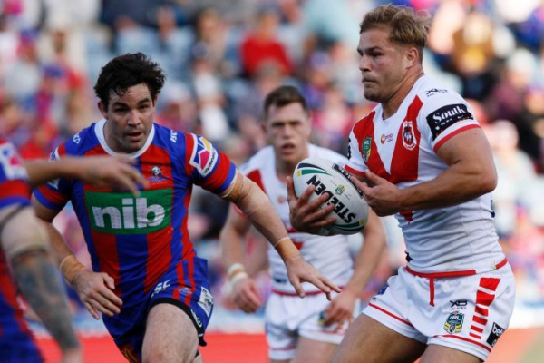 Dragons support de Belin's challenge to NRL stand down rules
