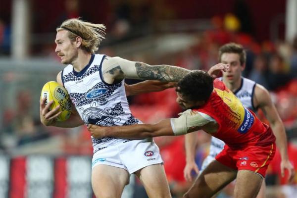 FINAL TEAMS: Gold Coast vs Geelong