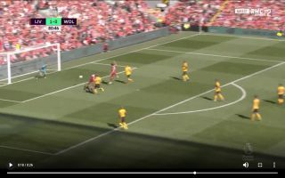 Video: Mane scores lovely header to extend Liverpool's lead vs Wolves