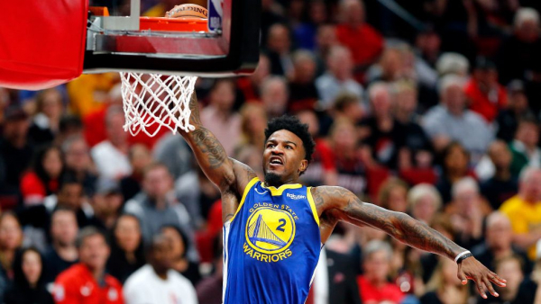 Jordan Bell spectacularly missed dunk, but Warriors reaction was perfect