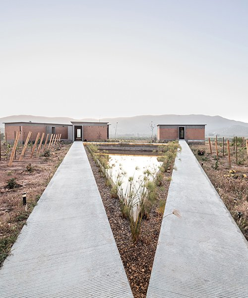 santos bolivar architects scatters rammed-earth hotel across mexican landscape