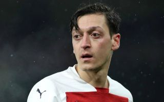 (Photo) What Mesut Ozil is up to while Arsenal face Burnley in pursuit of unlikely Champions League place