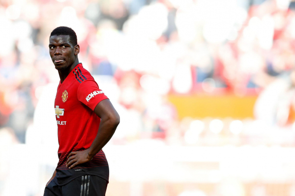 Paul Pogba abused by Man United fans after Old Trafford defeat to Cardiff City