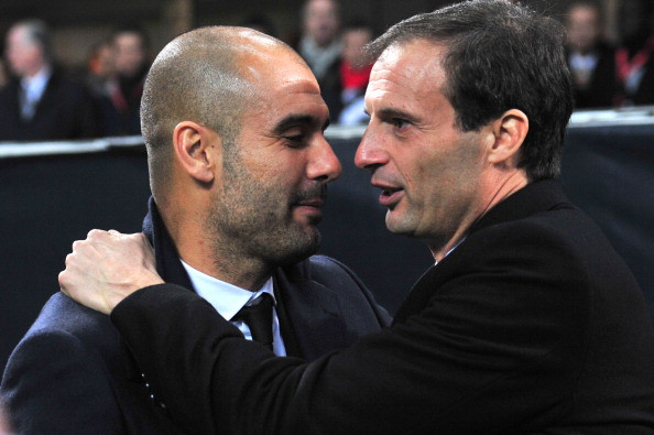 Pep Guardiola reaffirms commitment to Manchester City after Max Allegri is sacked by Juventus
