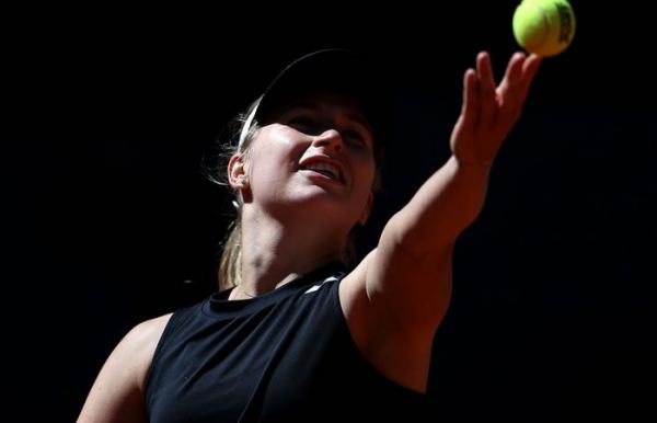Gavrilova upbeat despite Strasbourg defeat
