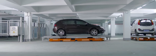 automated chauffeur robot parks your car and returns it when summoned