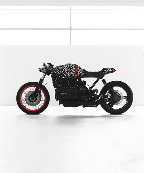 impuls camouflages custom motorcycle and e-bike with reflective print