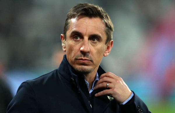 Gary Neville describes Man Utd players as a 'despondent group of people' v Huddersfield