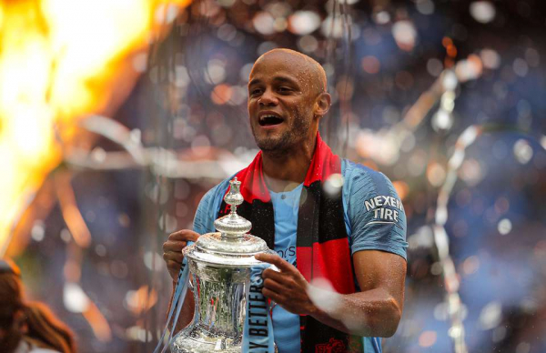 The candidates to replace Vincent Kompany as Manchester City captain next season