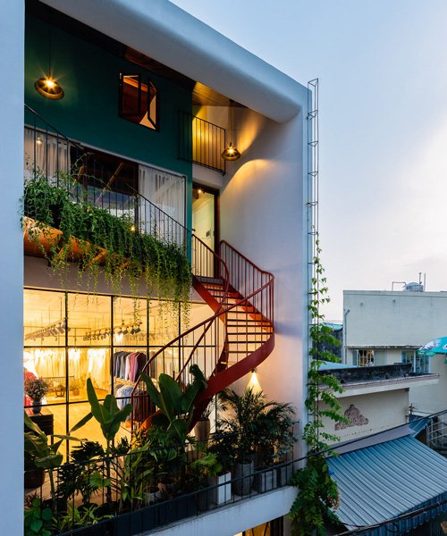 d1 architects transforms old vietnamese residence into photography studio home