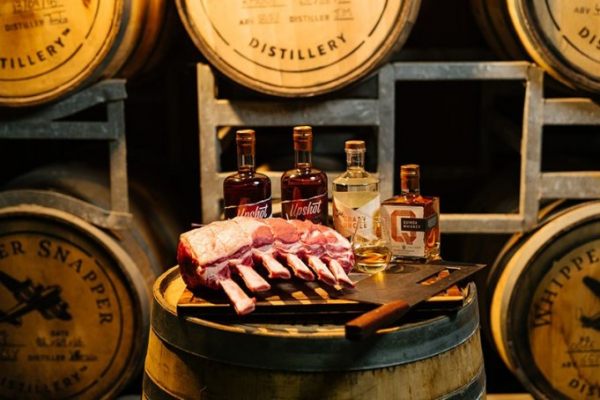 Perth Whiskey Degustation By Heyder & Shears and Cheatmeats