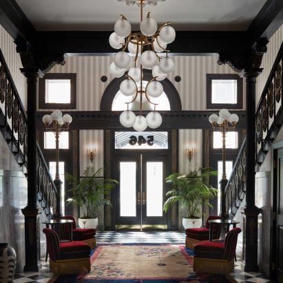 Atelier Ace and Studio Shamshiri design Maison de la Luz in New Orleans like a luxury guesthouse