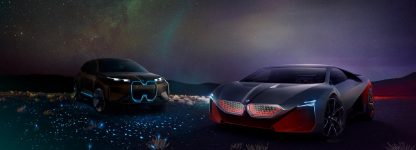 BMW vision M NEXT conceptualizes flexibly self-driving sports car