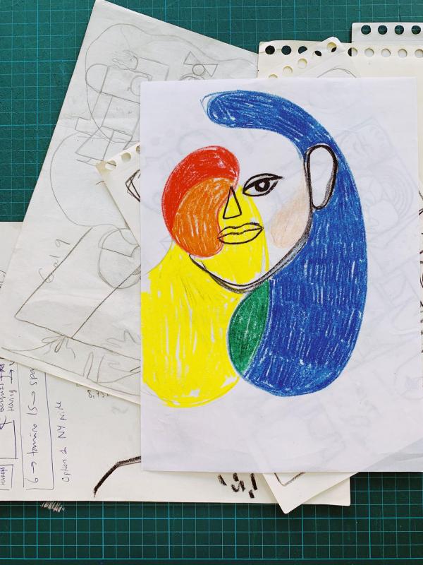 José Roda's drag illustrations celebrate Pride with Harry's