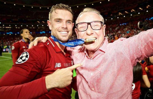 Jordan Henderson's dad says Liverpool are going to win the PL next season on Instagram