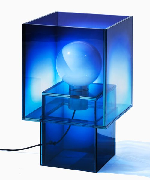 studio BUZAO sculpts blurred, ethereal glass furniture collection for gallery ALL