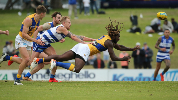 Nic Nat super impressive in WAFL, primed for AFL return