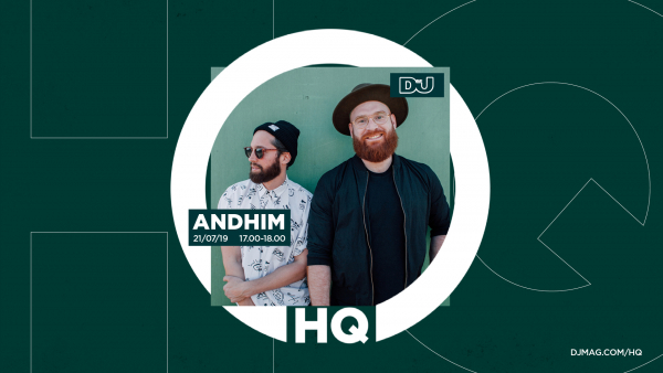 Watch AndHim Live From #DJMagHQ, This Friday