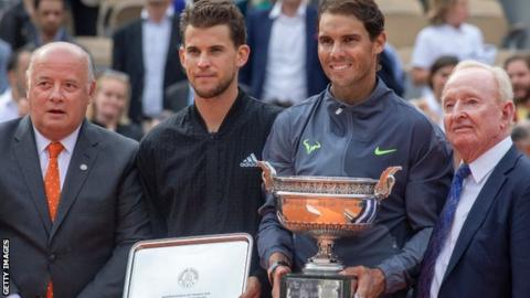 Thiem wants to 'make amends' with Serena Williams by playing Wimbledon mixed doubles