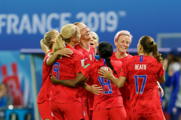 Megan Rapinoe hits back after USA are slammed for 'embarrassing' celebrations against Thailand