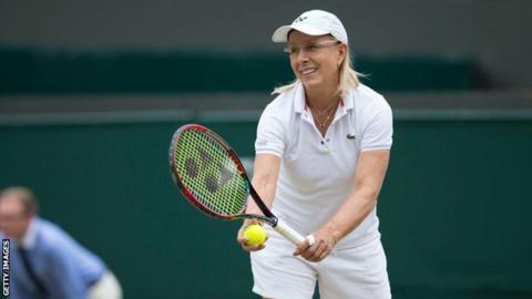 Trans athletes face 'huge' equality fight, says Navratilova