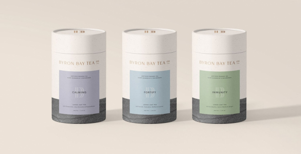 Byron Bay Tea Packaging