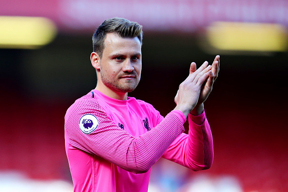 Crystal Palace lining up £8m move for Liverpool goalkeeper Simon Mignolet