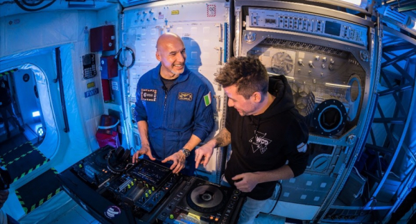 Real-life dancing astronaut to perform first DJ set in space