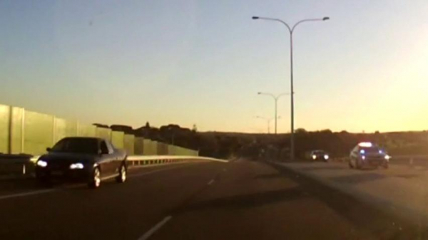 Footage emerges of dramatic police chase involving stolen ute across Perth suburbs