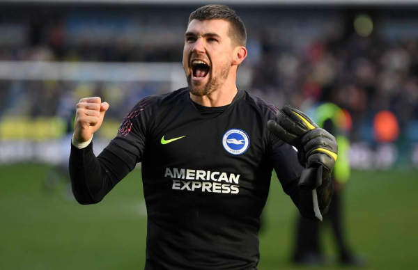 Brighton's Mat Ryan is delighted that Eden Hazard has finally 'p*ssed off' to Real Madrid