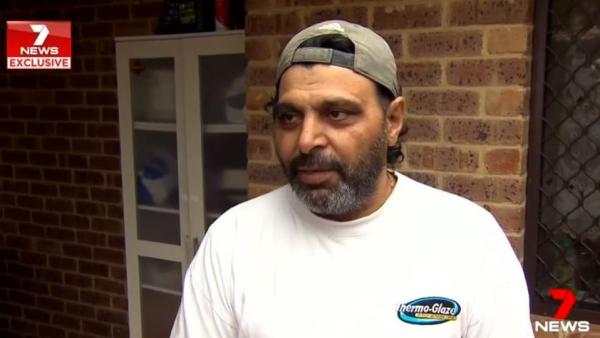 Ballajura family talks about shock of intruder crashing through roof of house