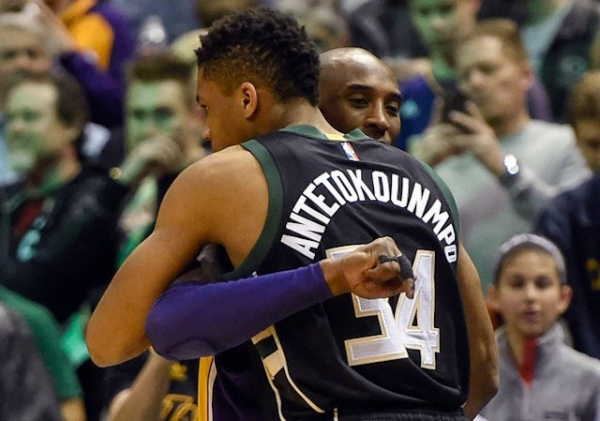 Lakers News: Kobe Bryant Congratulates Giannis Antetokounmpo On 2018-19 NBA MVP Award, Issues New Challenge