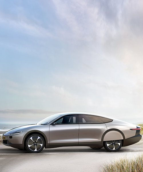 lightyear one is the world's first long-range solar electric car