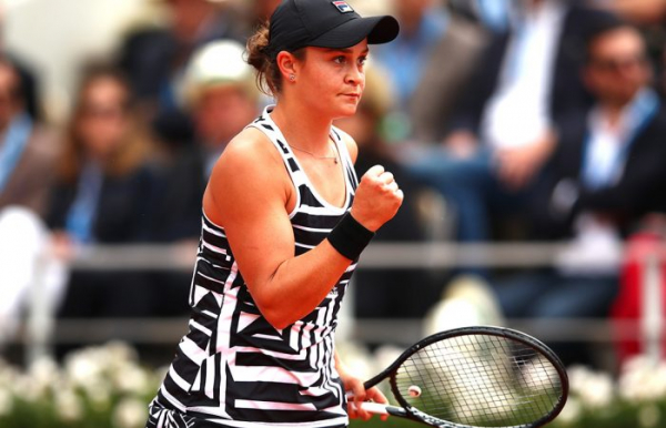 Biggest movers: Ash Barty new world No.2