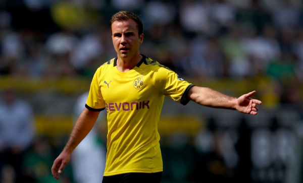 Borussia Dortmund star Mario Gotze responds to Arsenal transfer speculation