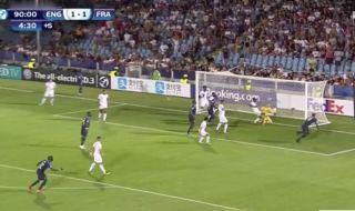 Video: Aaron Wan-Bissaka scores awful own-goal as England U21's suffer last-minute heartbreak vs France U21's