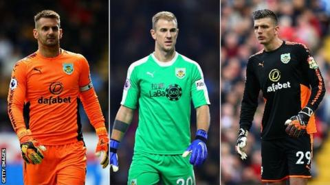 Joe Hart, Tom Heaton, Nick Pope - the numbers behind Burnley's keeper dilemma