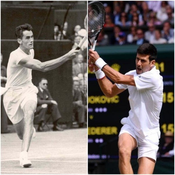 Before Novak Djokovic, The Last Man To Save Match Points In A Wimbledon Final Was Bob Falkenburg