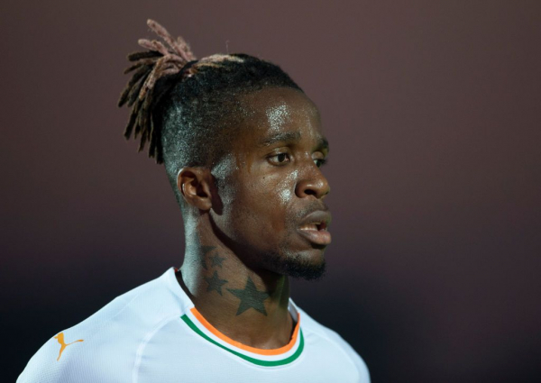 Wilfried Zaha posts cryptic message amid Arsenal transfer rumours