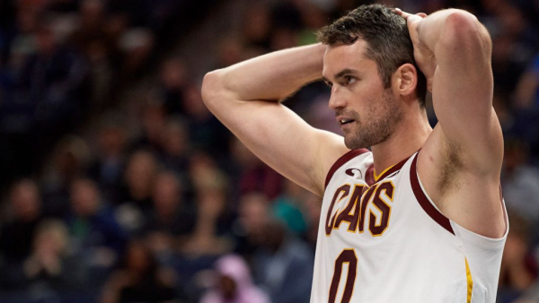 Cavaliers reportedly still not interested in trading Kevin Love