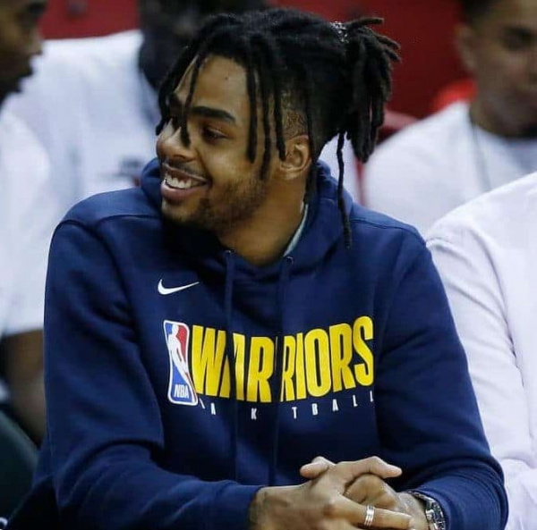 """Warriors Didn't Sign D'Angelo Russell """"With The Intention Of Just Trading Him,&#82..."""