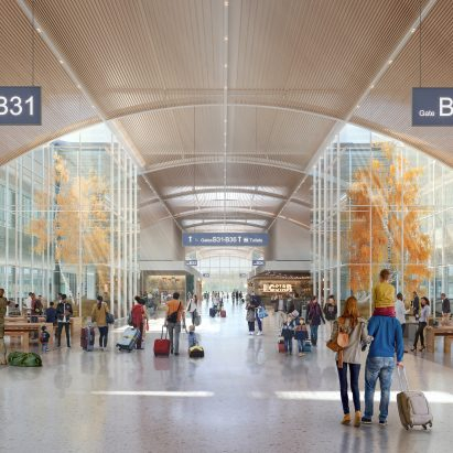 SOM designs concourse terminals for Studio ORD's Chicago O'Hare airport