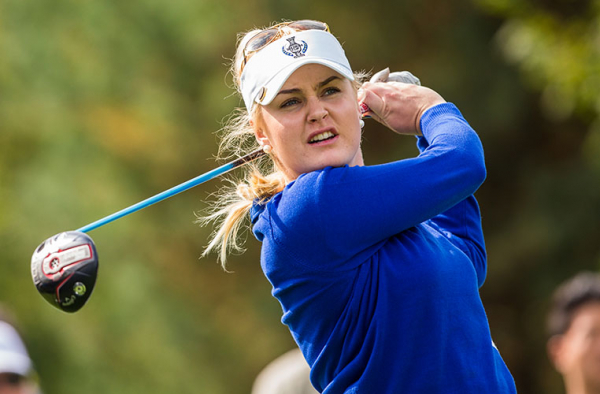 Solheim Cup Q&A with Charley Hull