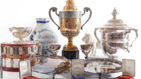 Becker memorabilia auction raises over £600,000