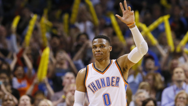 Russell Westbrook with emotional thank you, goodbye to Oklahoma City